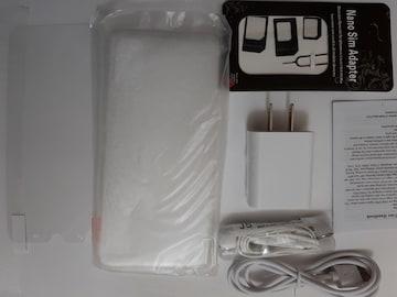 SIMフリー スマートフォン4GB 64GBAndroid9.1本体+付属品一式