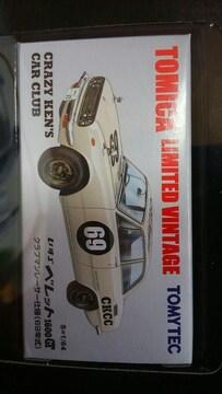 トミカ リミテッドヴィンテージネオ いすゞ ベレット 1600GT クラブマンレーサー仕様 新品