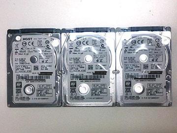 ★ハードディスク HGST Z5K500-320 320GB SATA 3個セット
