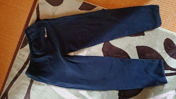 Champion sweat pants 紺 Lサイズ アメリカ製