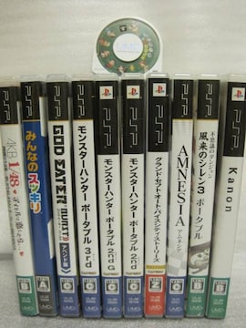 PSP ソフト10本セット 風来のシレン AKB48等