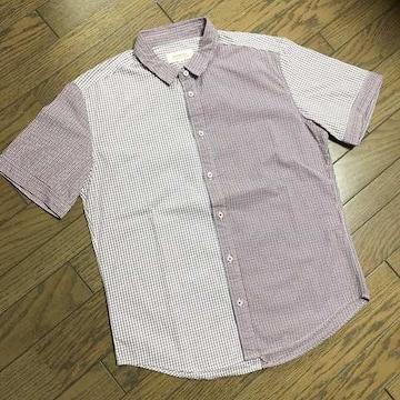 美品HIROMICHI NAKANO チェックシャツ ヒロミチナカノ