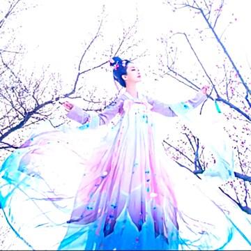 新品 漢服 コスプレ衣装 舞台&撮影&学園祭&お祭など7点セット M