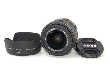 手振れ補正機能付きレンズ♪Nikon AF-S DX 18-55mm G �U VR