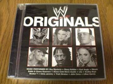 プロレスCD WWE ORIGINALS DVD付き初回盤