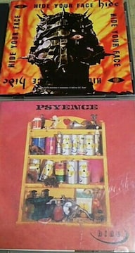CD2枚 hide(X-JAPAN) HIDE YOUR FACE PSYENCE