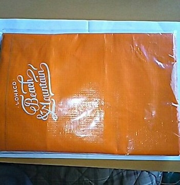 新品 LOHACO 大レジャーバッグ 非売品 オレンジ ビッグサイズ