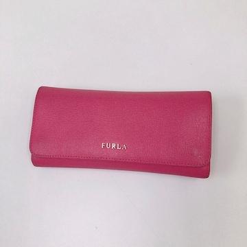◆FURLA/フルラ◆定番長財布★人気バビロン/ピンク♪