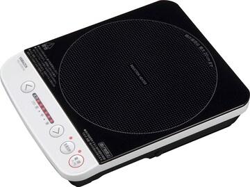 [山善] 卓上 IHクッキングヒーター IH調理器  YEL-S100(W)