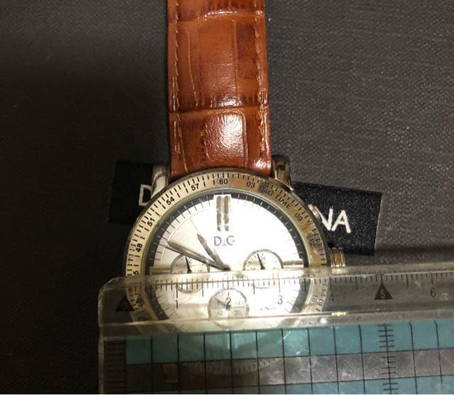 1スタ 超オススメ☆ ドルチェ&ガッバーナ  クロノグラフ腕時計