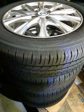 175/65R15 夏タイヤ、アルミホイール付4本セット