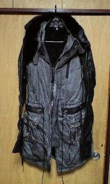 新品KMRIIケムリ ファーフードボアライナーモッズコート 2 MODS COAAT