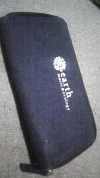 earth★デニム長財布☆