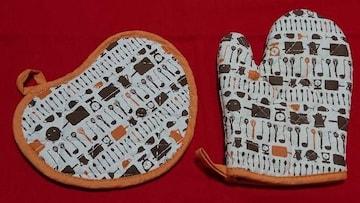 ☆スーモ☆鍋つかみ&鍋敷き☆2点セット☆未使用品☆suumo☆