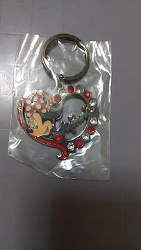 未使用 ミニーマウス キーホルダー Disney キャラクターグッズ