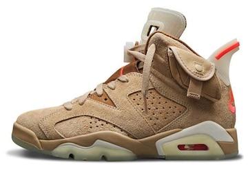Travis Scott × Nike Air Jordan 6 British Khaki