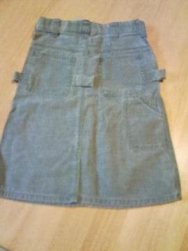 新品ジーンズのスカート