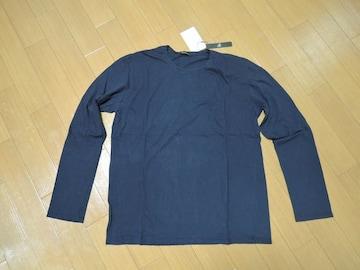 新品JohnbullジョンブルカットソーXL紺無地ロンT定価半額以下