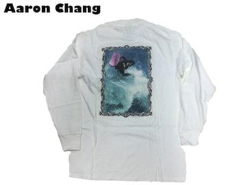 新品 長袖 Aaron Chang 90代 オルドスクール ロングT