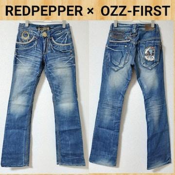 REDPEPPER レッドペッパー フレアデニム ブーツカット 美品 XS コラボ