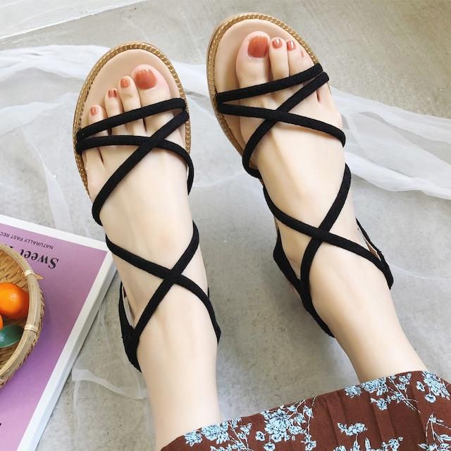 サンダル レディースシューズ ミュール ビーチサンダル < 女性ファッションの