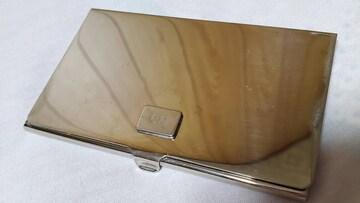 正規 レア ディオールオム CDロゴエンブレム メタルカードケース 名刺入れ ラグジュアリー