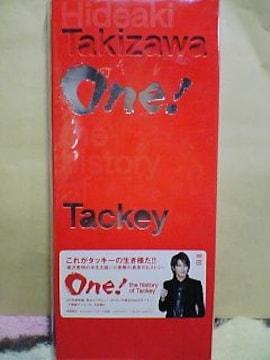 送込〓初回盤〓One!-the history of Tackey-