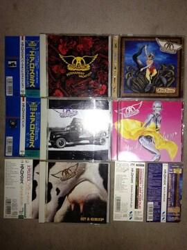 AEROSMITH エアロスミス 国内盤 CD 5枚セット ゲットアグリップ パンプ等 帯付