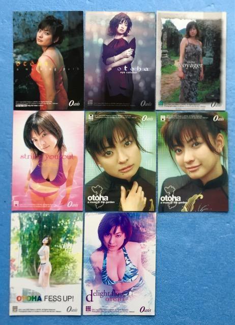 タレント 乙葉 グラビア 撮影 写真 カード トレカ 8枚 セット < タレントグッズの