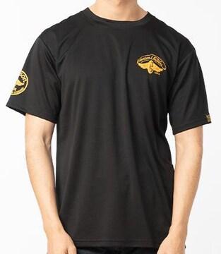 新品正規バンソンメッシュTシャツブラック×イエローVS21081