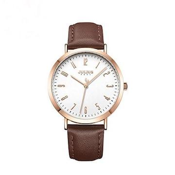 JA-1017D レディース 腕時計 茶色