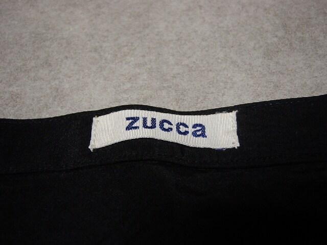 ZUCCA ズッカ シルク・コットン スカート < ブランドの
