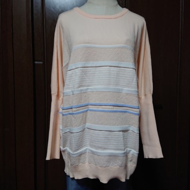 L,LLXL3L/¥3289新品シューラルー☆袖長リブドルマン < 女性ファッションの