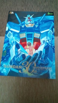 ガンダム 30周年記念オフシャルブック + ポストカード4枚