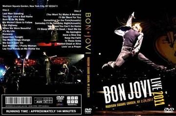 ≪送料無料≫BON JOVI M.S.G NY 2.24.2011 ボンジョヴィ