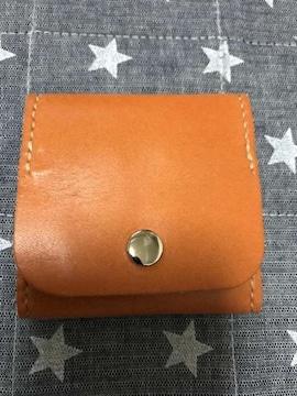 ハンドメイド☆本牛革☆コインケース