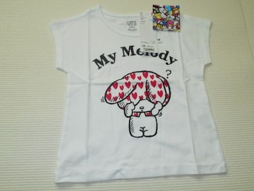 UNIQLO マイメロディ 半袖Tシャツ 100サイズ サンリオ