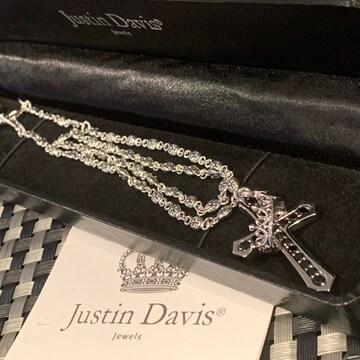 品◆JUSTIN DAVIS◆クロスネックレスセット◆50cm◆定価89,100円