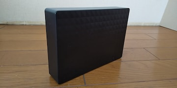 エレコム(SEAGATE製)!TV用外付けHDD(2TB)。