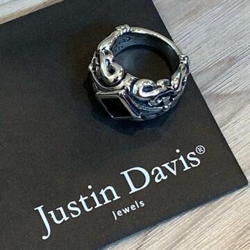 新品◆JUSTIN DAVIS◆DUKE RING◆8号◆希少◆クロムハーツ