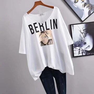 2021夏モデル女性用のゆったりしたTシャツ2