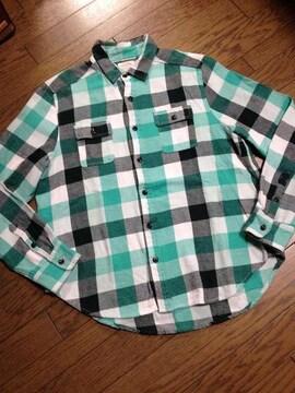 美品CIAO PANIC チェックシャツ チャオパニック