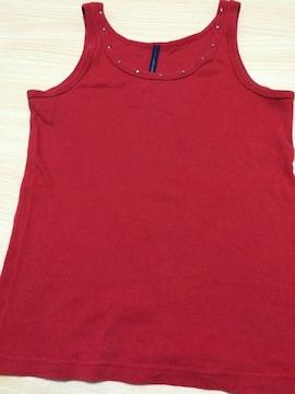赤のタンクトップ★Sサイズ