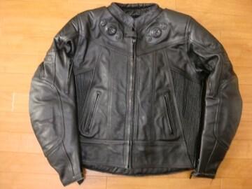 定価6万 英国 フランクトーマス ライダースジャケット L