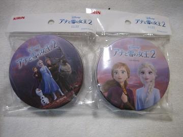 ディズニー アナと雪の女王2 オリジナル付箋缶 2個セット キリン