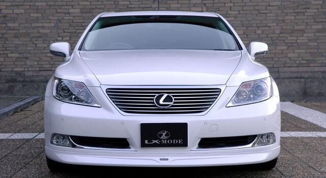 LX MODE LS600hL/600h/460 塗装済Fスポイラー P < 自動車/バイク
