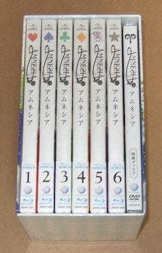 新品 AMNESIA アムネシア Blu-ray 初回全6巻+収納BOX