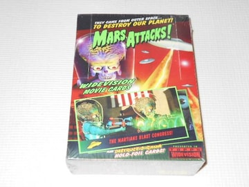 MARS ATTACKS! WIDEVISION MOVIE CARDS マーズアタック!