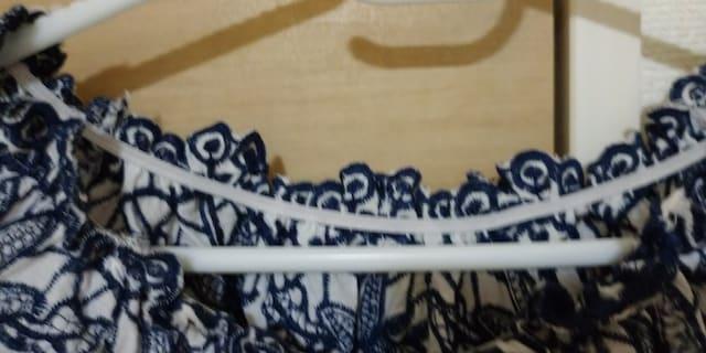GRL グレイルオフショル  パフ袖  刺繍  カットソー コットン混 < ブランドの