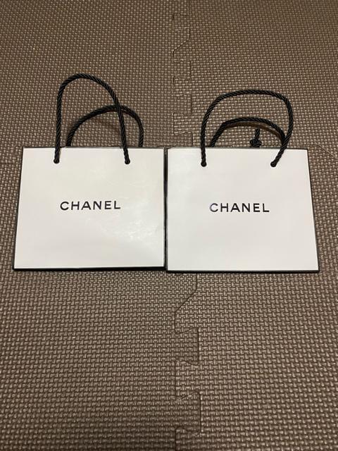 美品 シャネルショップ袋2枚セット